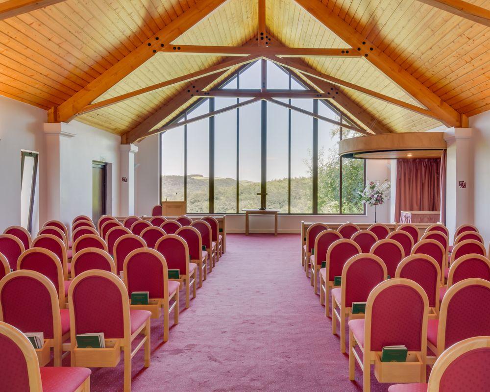 Aberystwyth Crematorium & Cemetery seating area